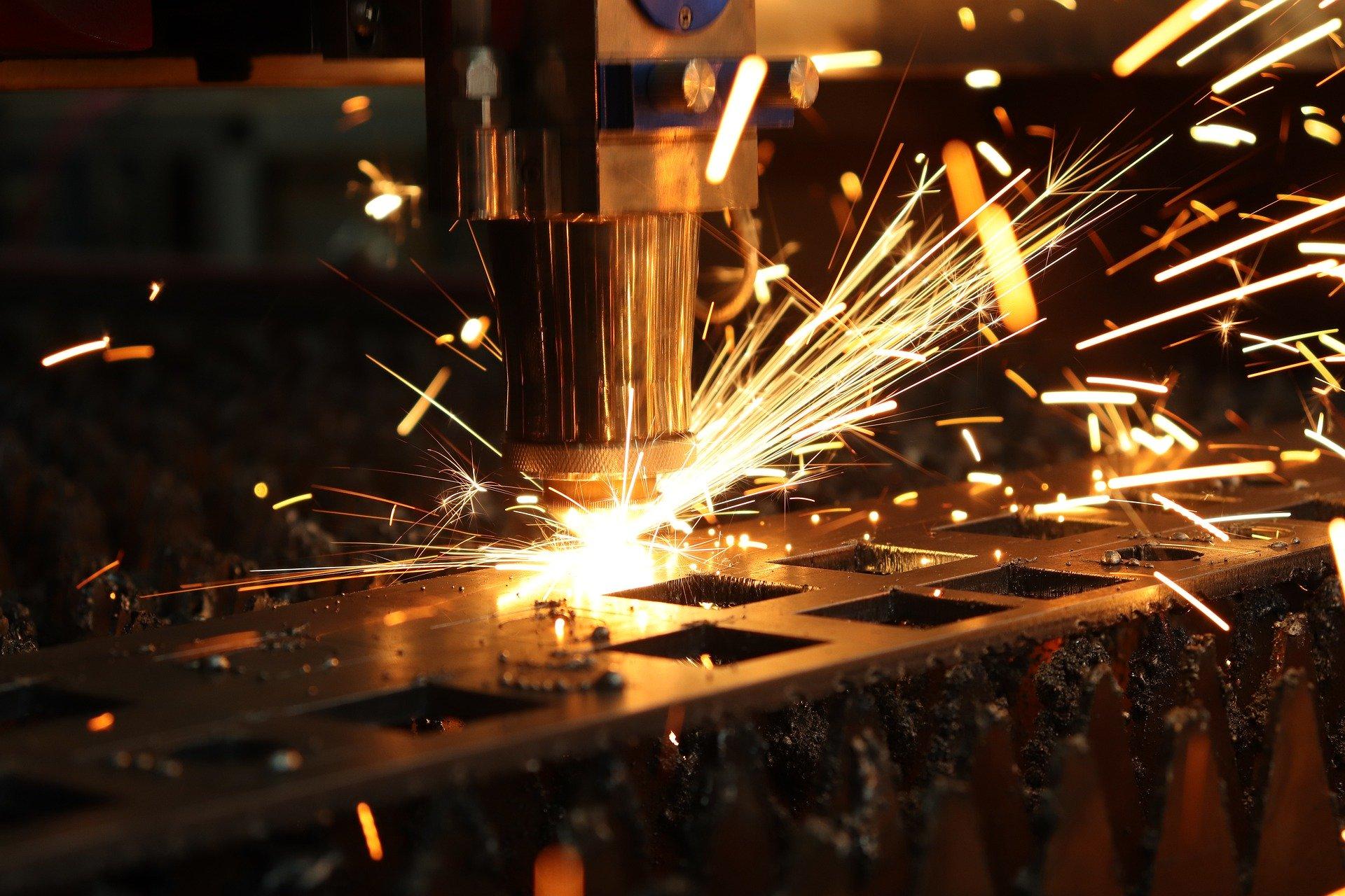 Metal Lazer Kesim ByStronic Makine Parkımız