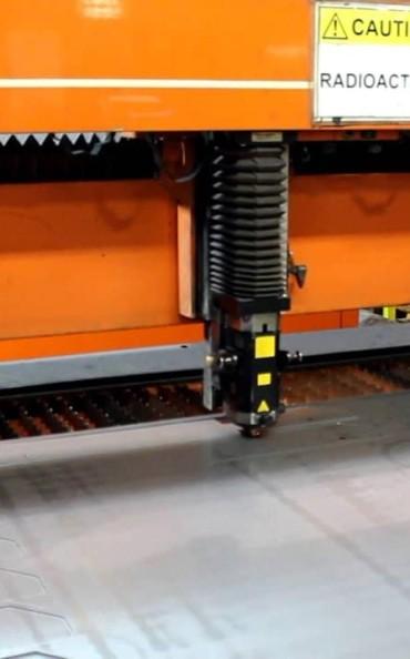 metal lazer kesim marking machine